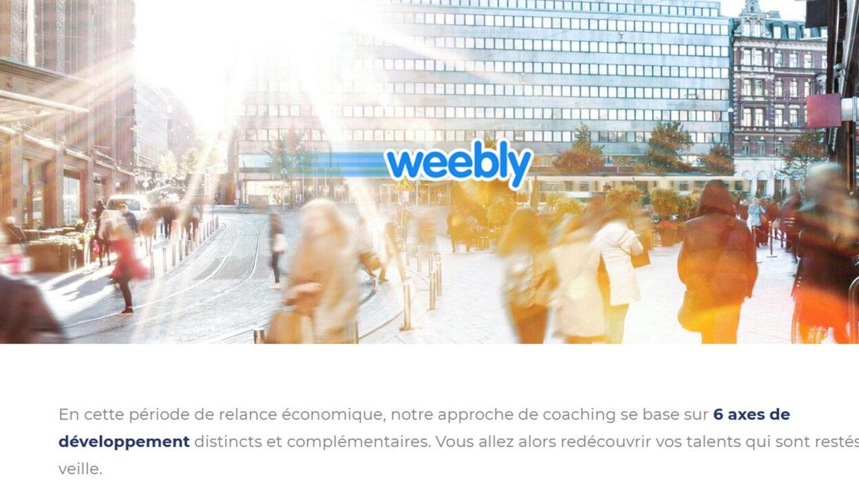 Weebly et iCoaching Groupe