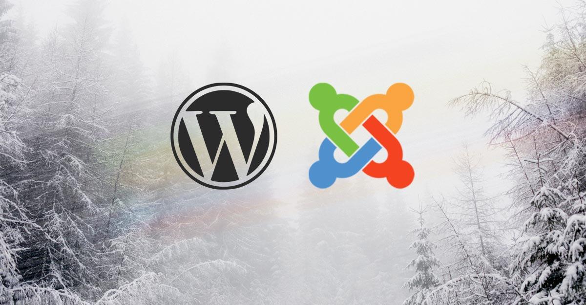 Évaluer un projet Web monté avec WordPress et Joomla