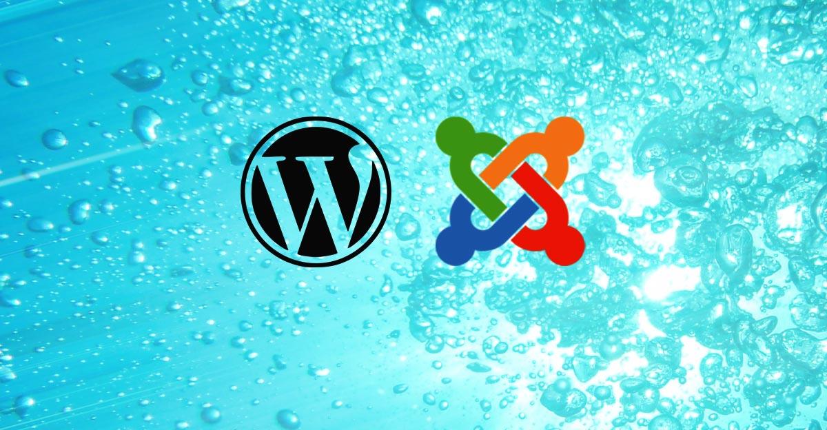Pourquoi se donner la peine de garder mon site WordPress, Joomla et autre à jour?