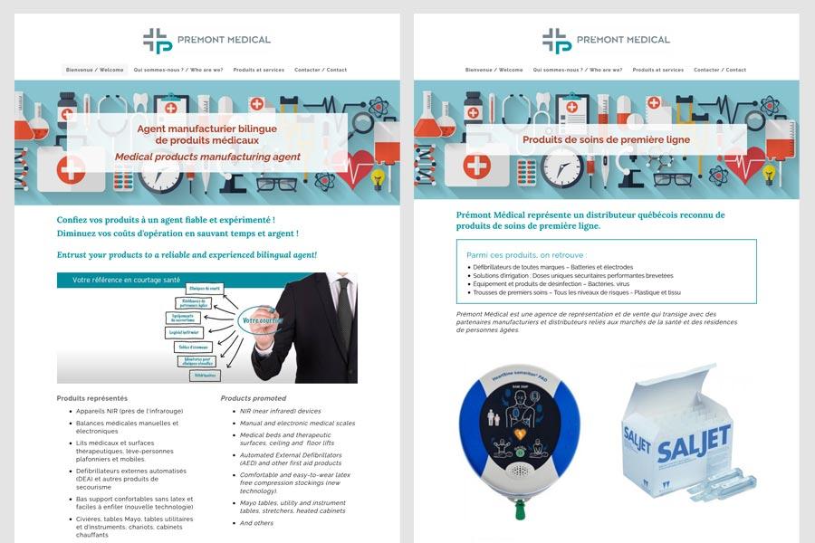 Prémont Médical produits et services