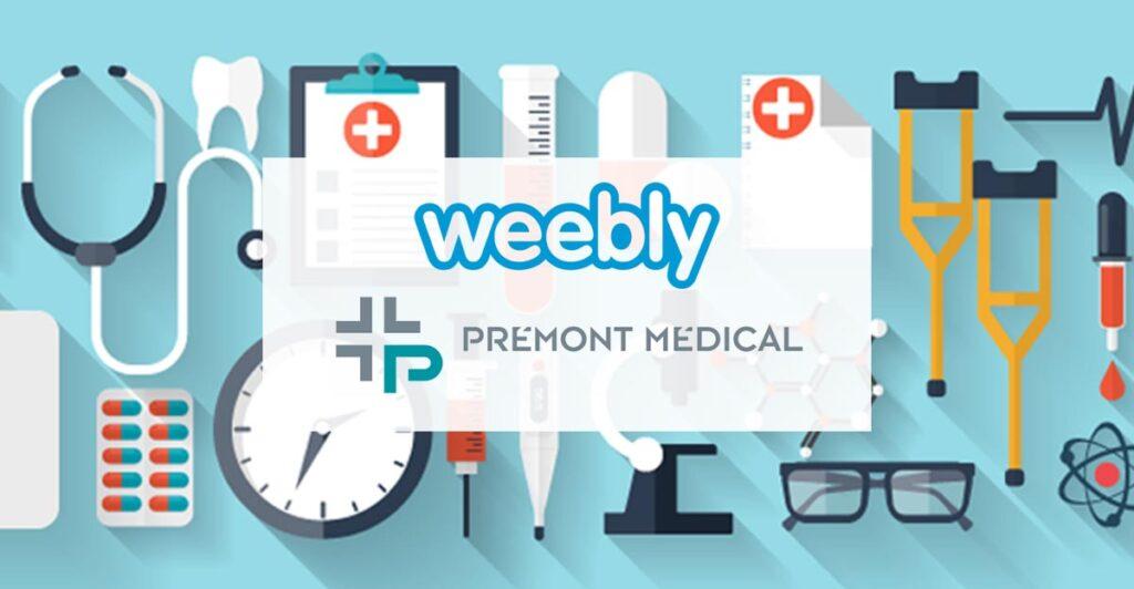Améliorer le site Web Weebly Prémont Médical, les étapes du projet