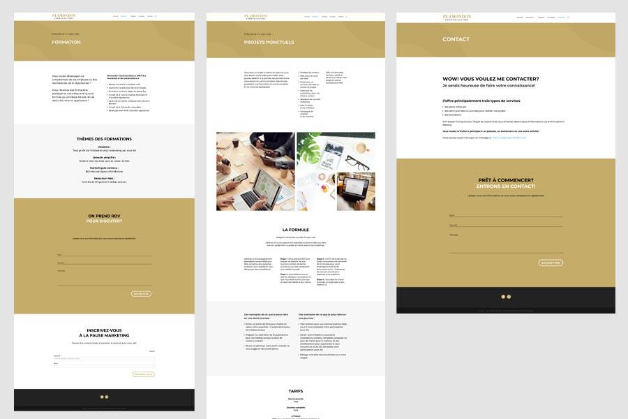 Plamondon Communications services - contact