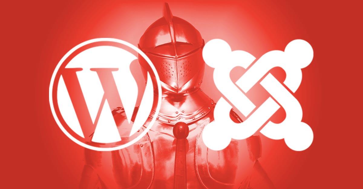 Protéger WordPress et Joomla, ça presse!