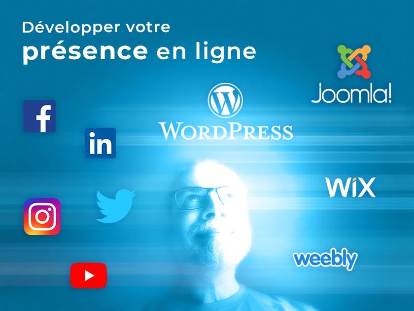 Développer votre présence en ligne